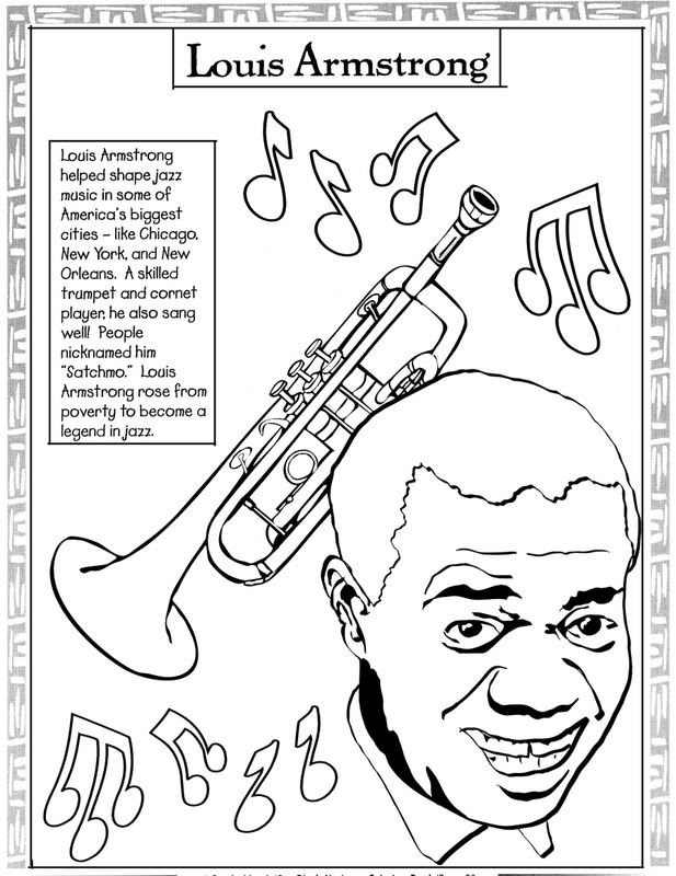 black history month coloring pages 12printablecoloring pages - Black History Coloring Pages