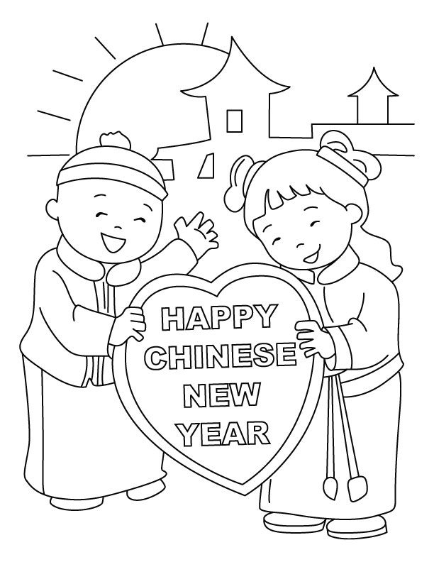 coloring pages of chinese-new-years-day,printable,coloring pages