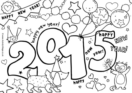 Kids Coloring Pages Chinese New Years Dayprintablecoloring