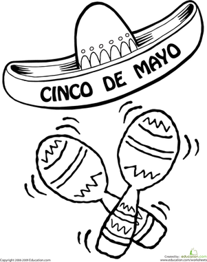cinco-de-mayo coloring pages,printable,coloring pages