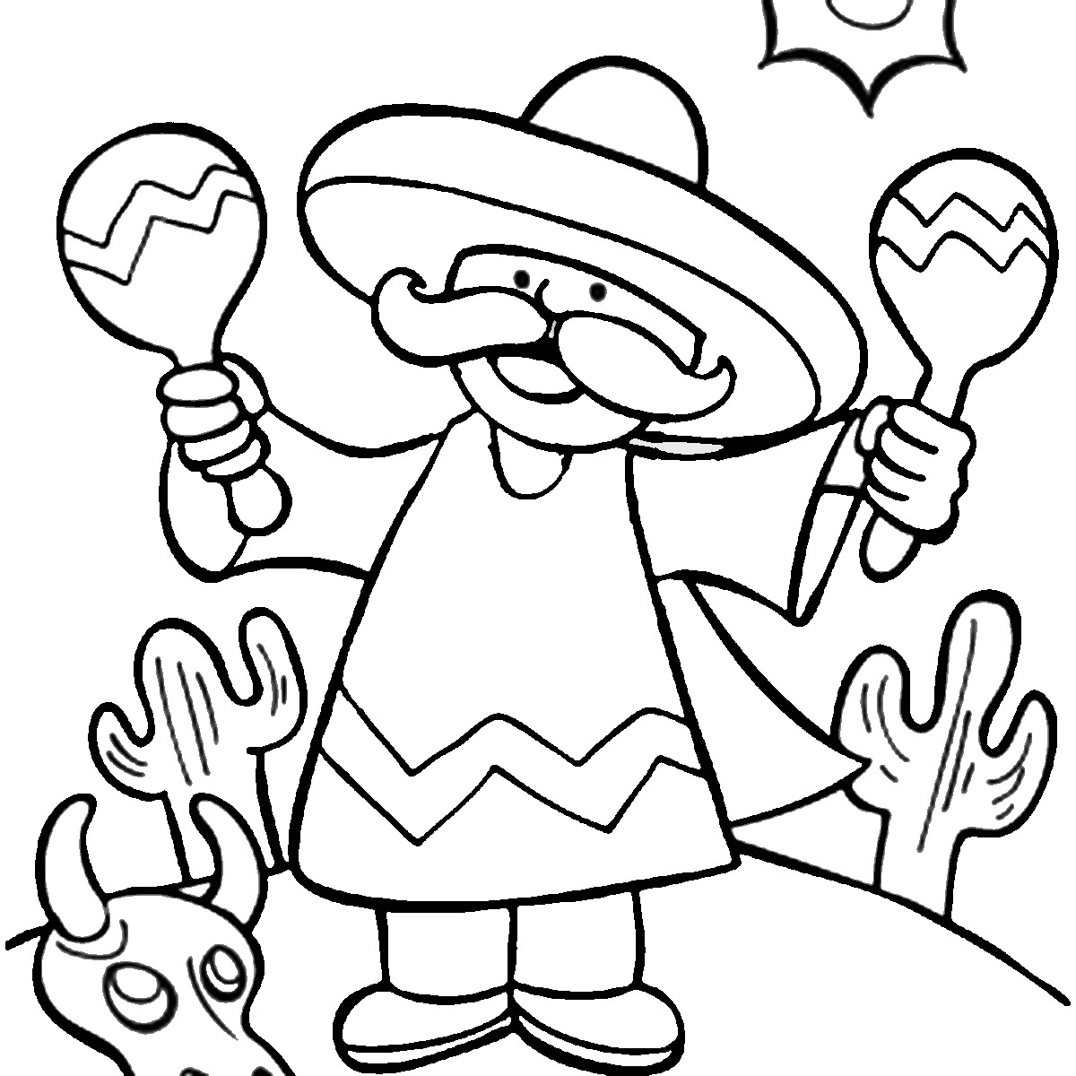 printable pictures of cinco-de-mayo page,printable,coloring pages