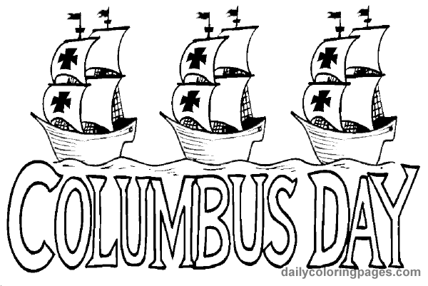 coloring pages of columbus-day,printable,coloring pages