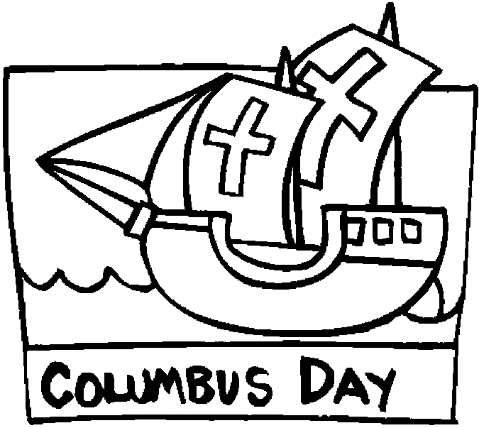 Sailing coloring pages print color craft for Columbus coloring page