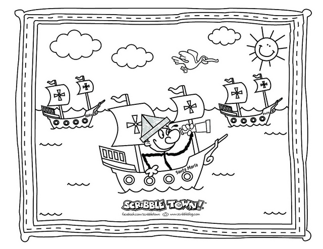 columbus-day coloring pages 11,printable,coloring pages