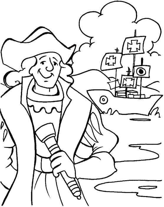 columbus-day coloring pages for kids,printable,coloring pages