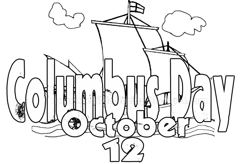printable pictures of columbus-day page,printable,coloring pages