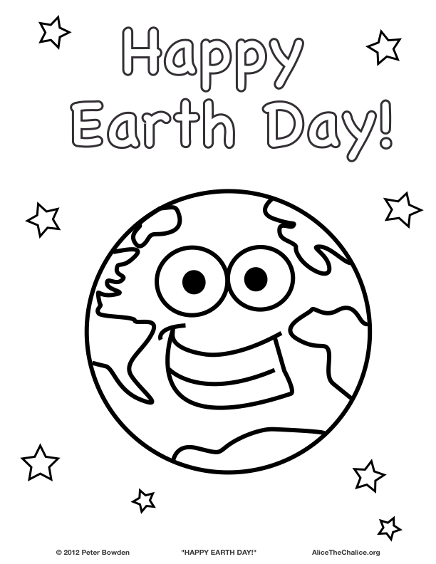Earth Day Coloring Pagesprintablecoloring Pages