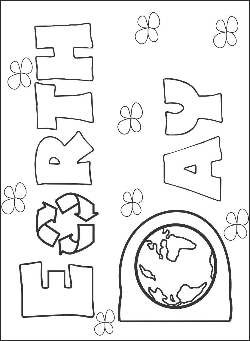 coloring pages for earth day - photo#26