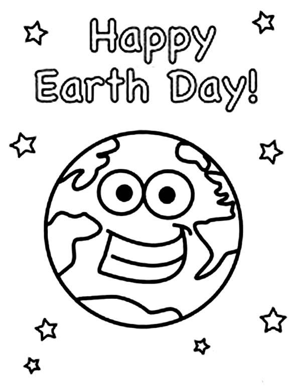 14 Earth Day Coloring Pages For Kids