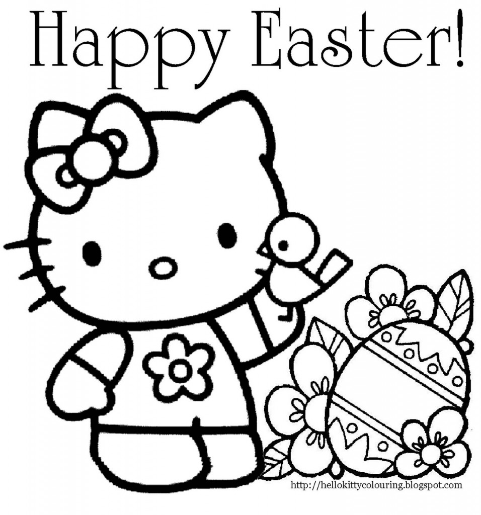 24 printable easter coloring pages print color craft