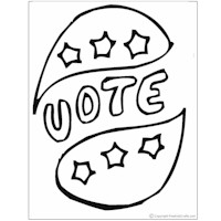 coloring pages of election-day,printable,coloring pages