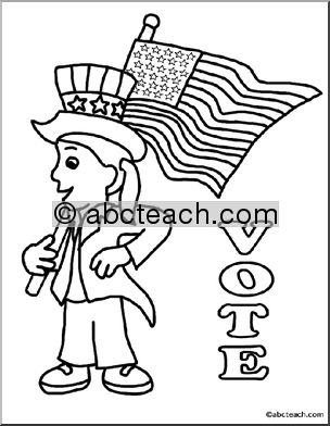 Election Day Coloring Pages 11,printable,coloring Pages