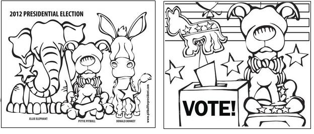 kids coloring pages election-day,printable,coloring pages