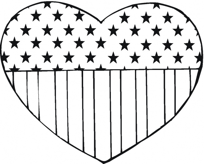 flag-day coloring page,printable,coloring pages