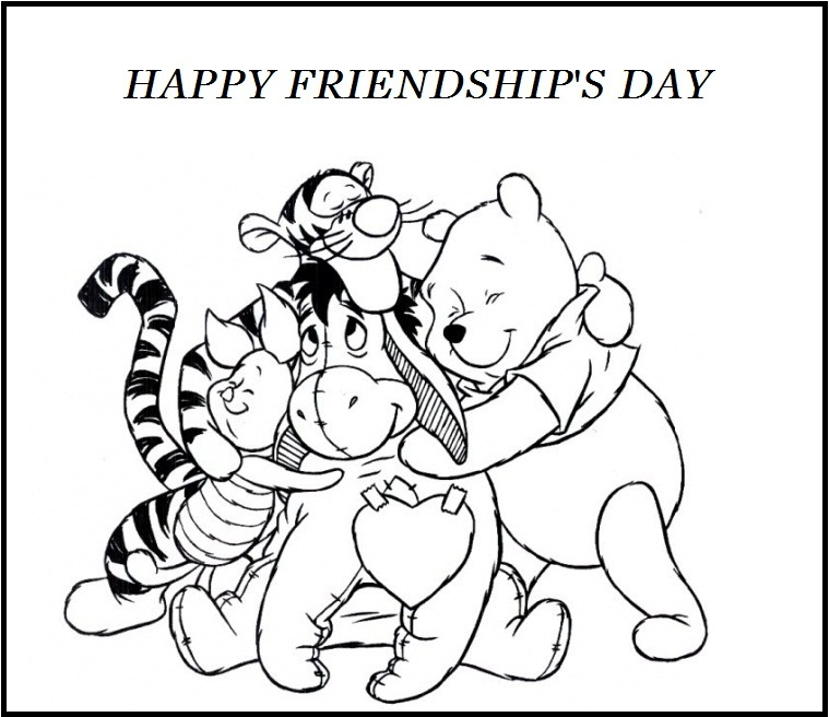 coloring pages of friendship-day,printable,coloring pages