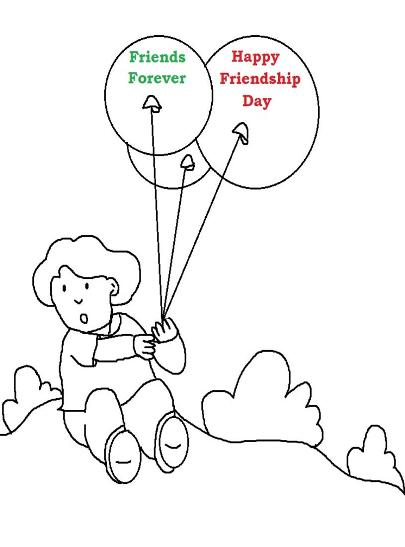 friendship-day coloring pages 12,printable,coloring pages