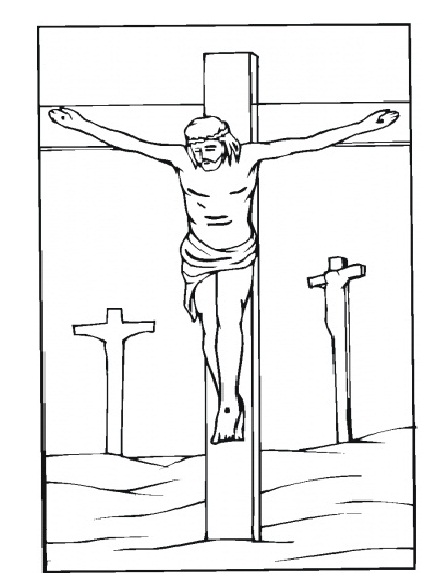Good Friday Coloring Pages 11printablecoloring