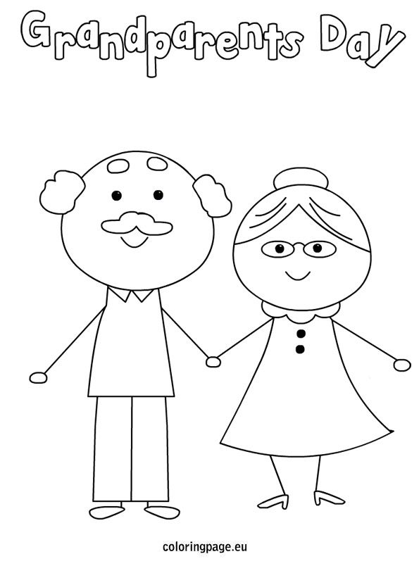 grandparents-day coloring page to print,printable,coloring pages