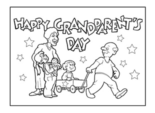 Gargantuan image pertaining to grandparents day printable coloring pages