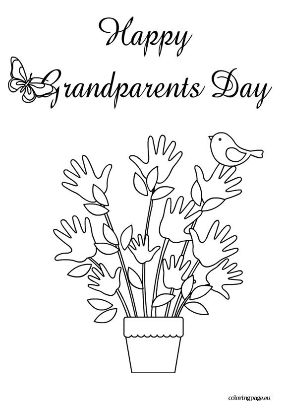 grandparents day coloring pages for kidsprintablecoloring pages
