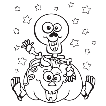 13 halloween coloring pages for kids