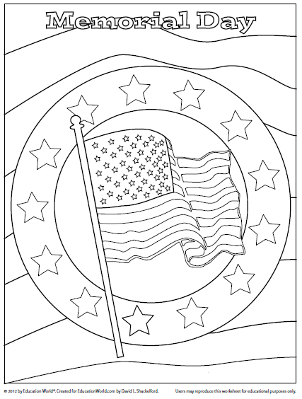 coloring pages of memorial-day,printable,coloring pages