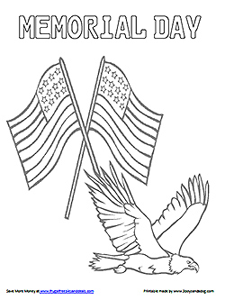 memorial-day coloring page to print,printable,coloring pages