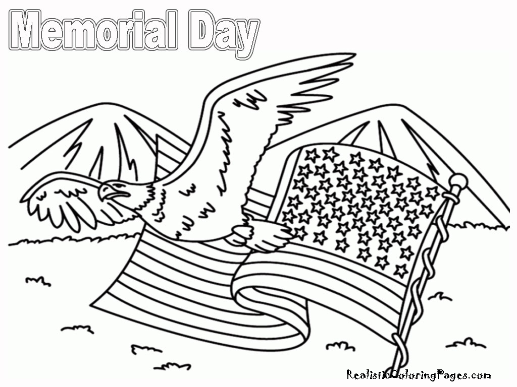 Memorial Day Coloring Pages For