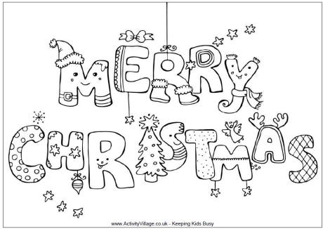 merry christmas coloring pagesprintablecoloring pages