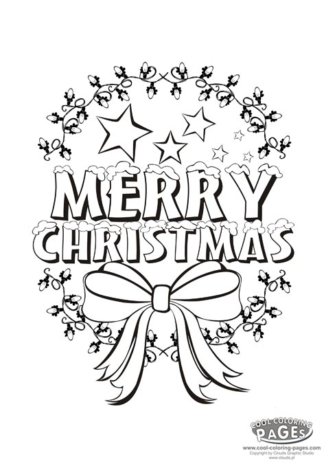 15 merry christmas coloring pages