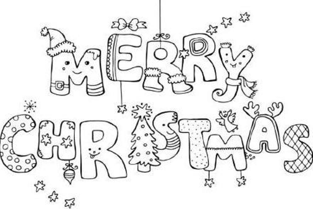 printable merry christmas coloring pagesprintablecoloring pages