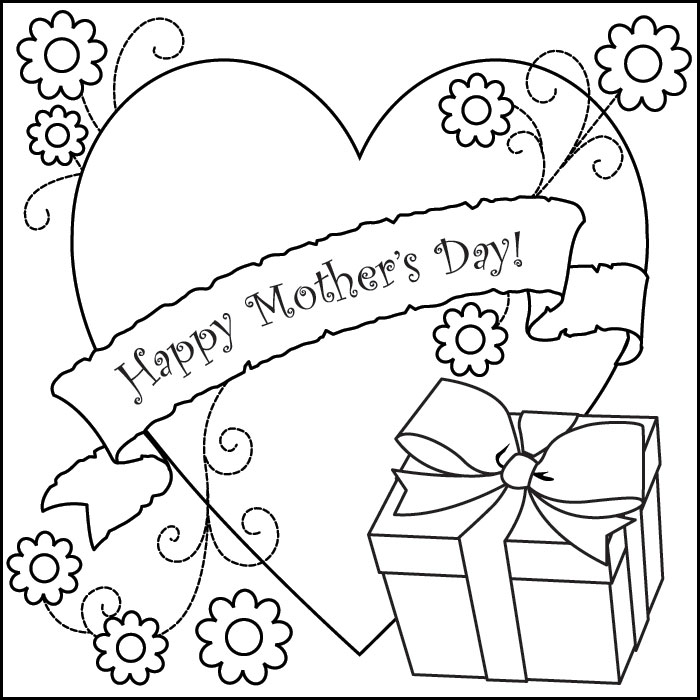 mothers-day coloring page,printable,coloring pages