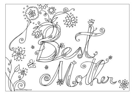 mothers-day coloring page to print,printable,coloring pages