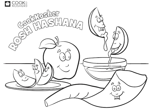 printable rosh-hashanah coloring pages,printable,coloring pages