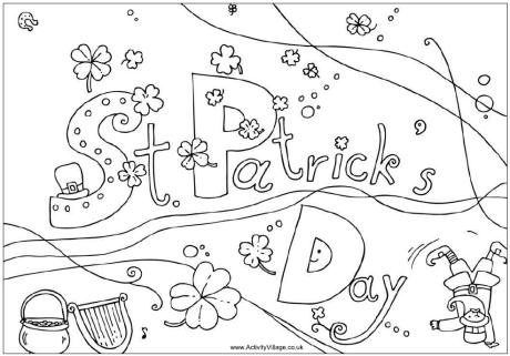 coloring pages of st-patricks-day,printable,coloring pages