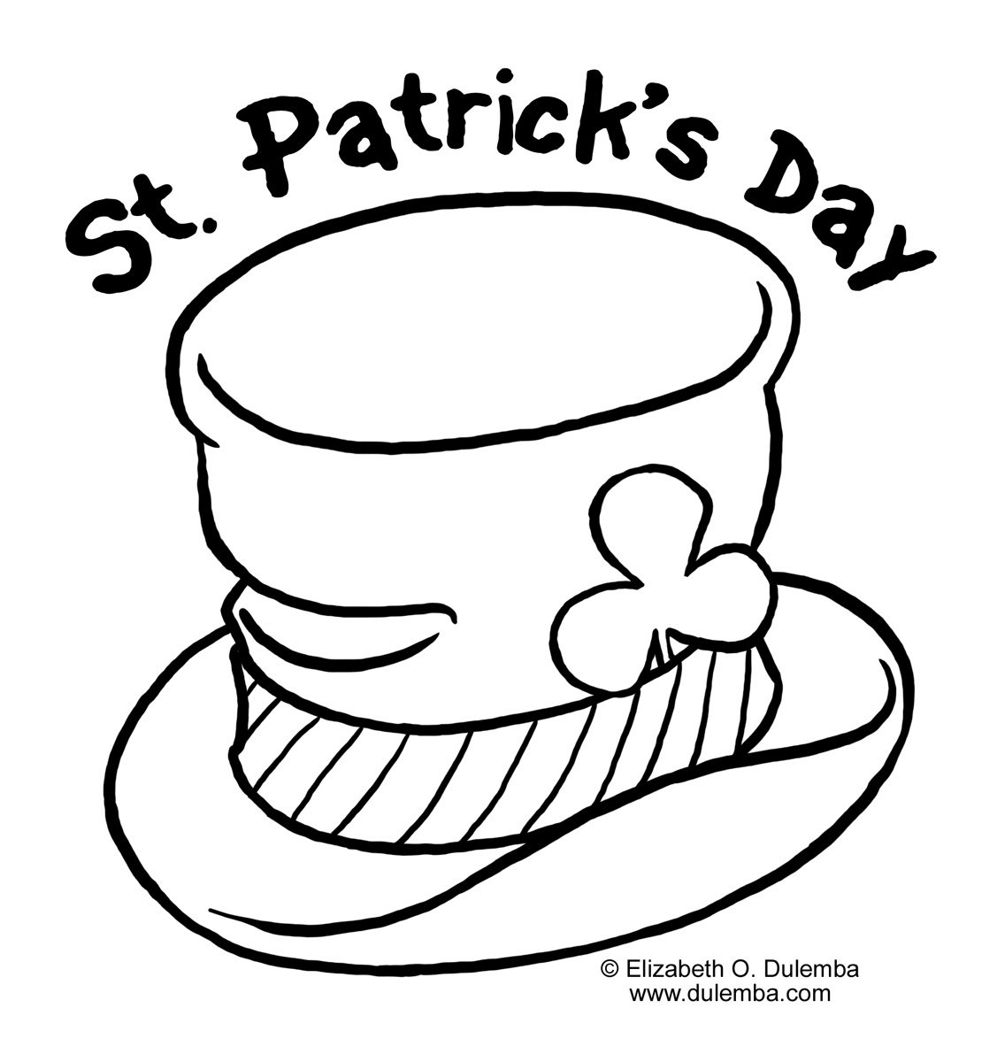 printable pictures of st-patricks-day page,printable,coloring pages