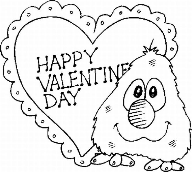 14 coloring pages of st valentines day print color craft