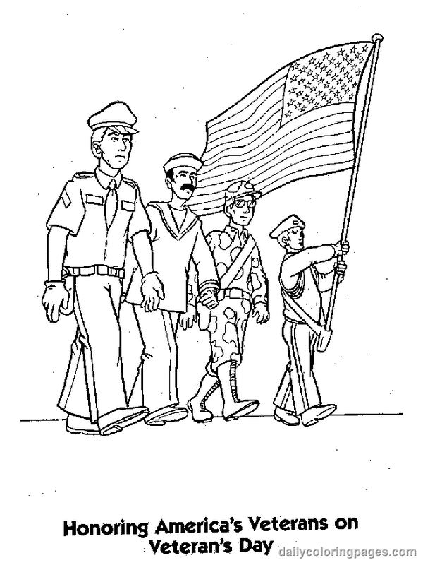 coloring pictures veterans-day,printable,coloring pages