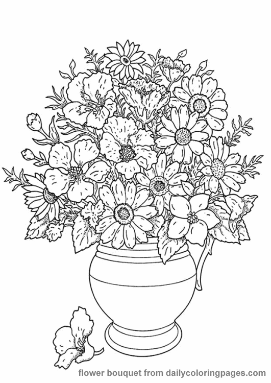 adult-flowers coloring pages,printable,coloring pages