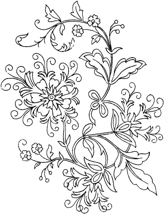 adult-flowers coloring pages 14,printable,coloring pages