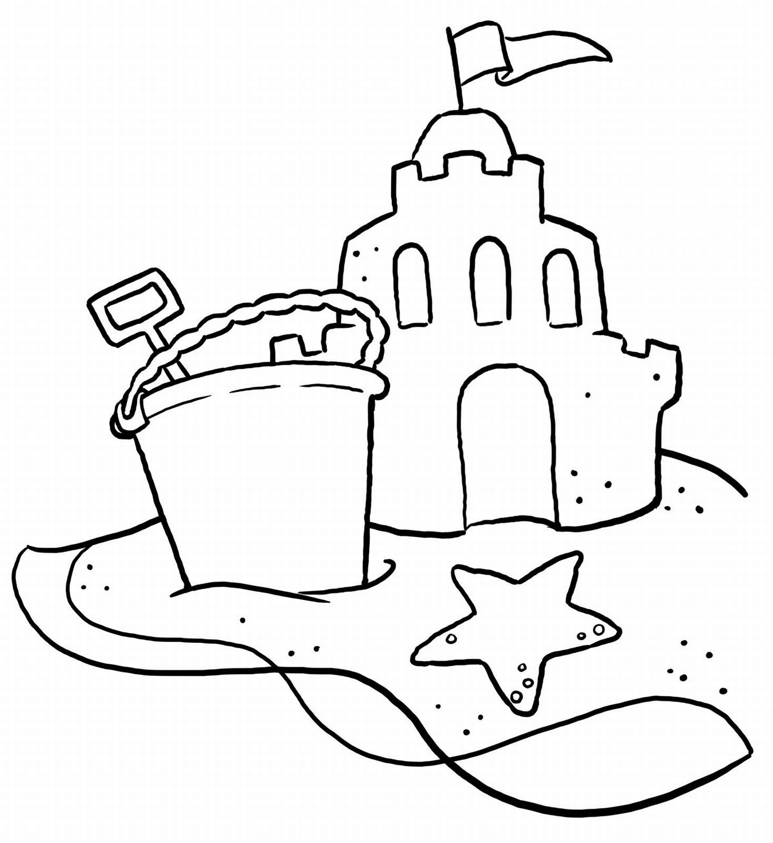 beach coloring page,printable,coloring pages