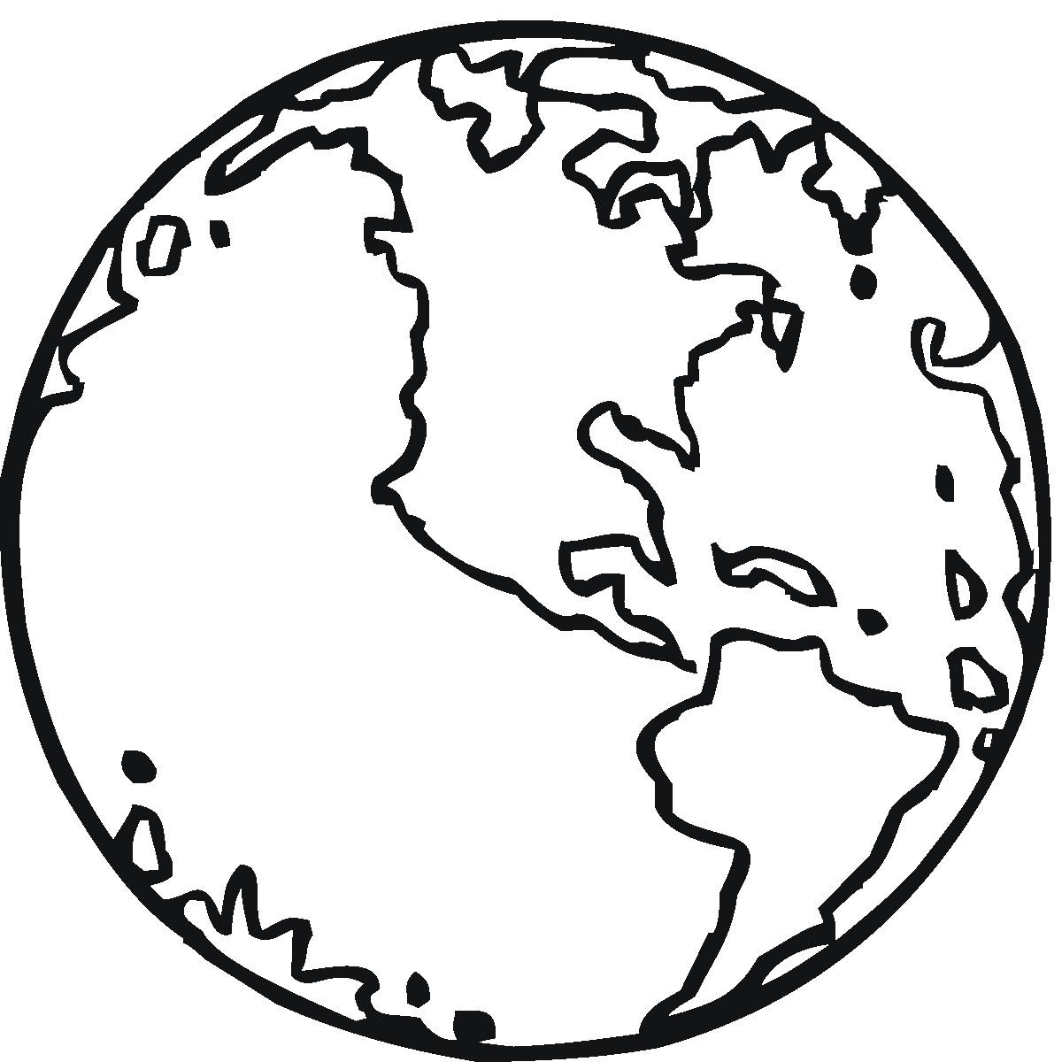 Earth Coloring Pageprintablecoloring Pages