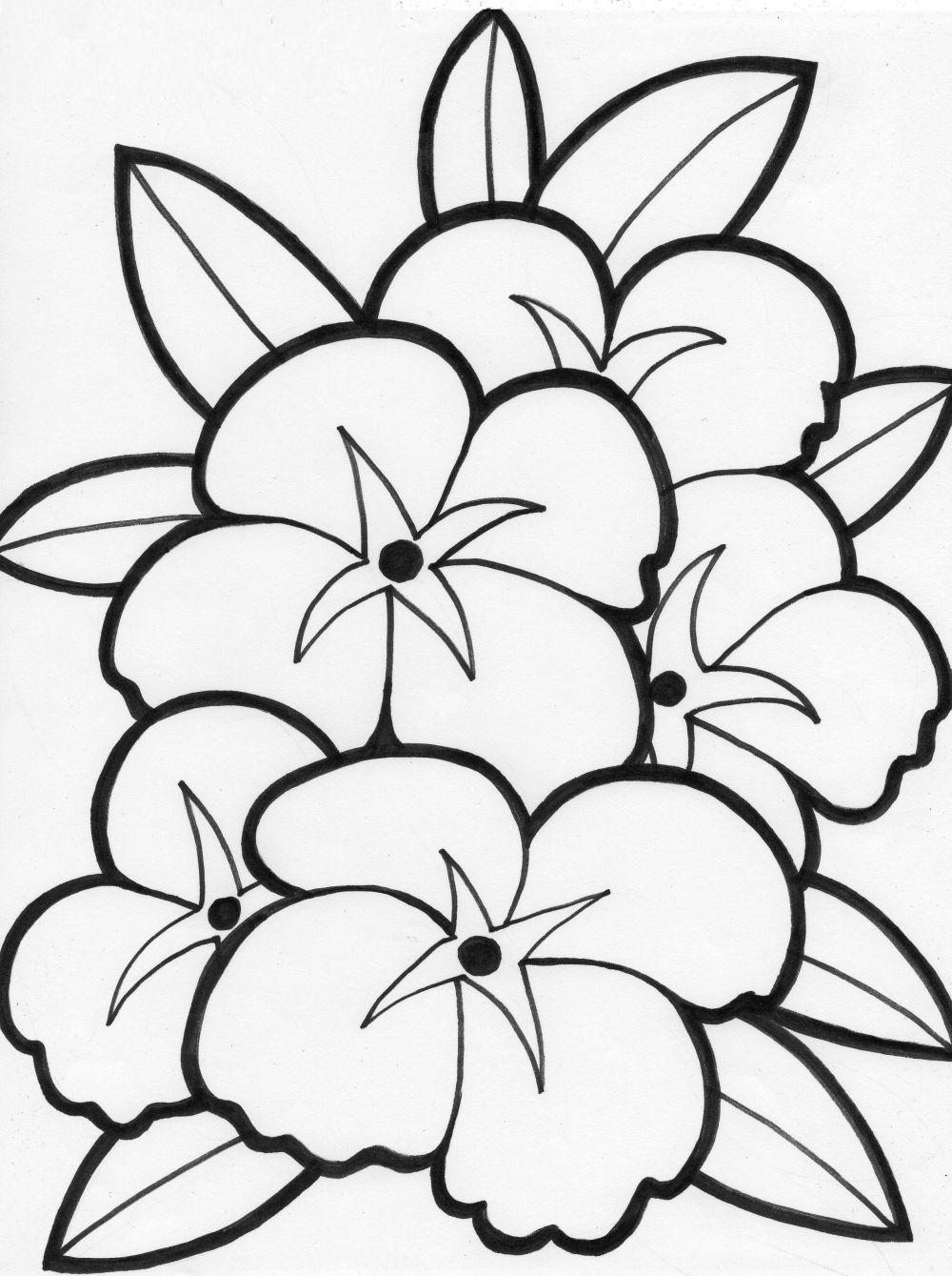 flower coloring page to print,printable,coloring pages