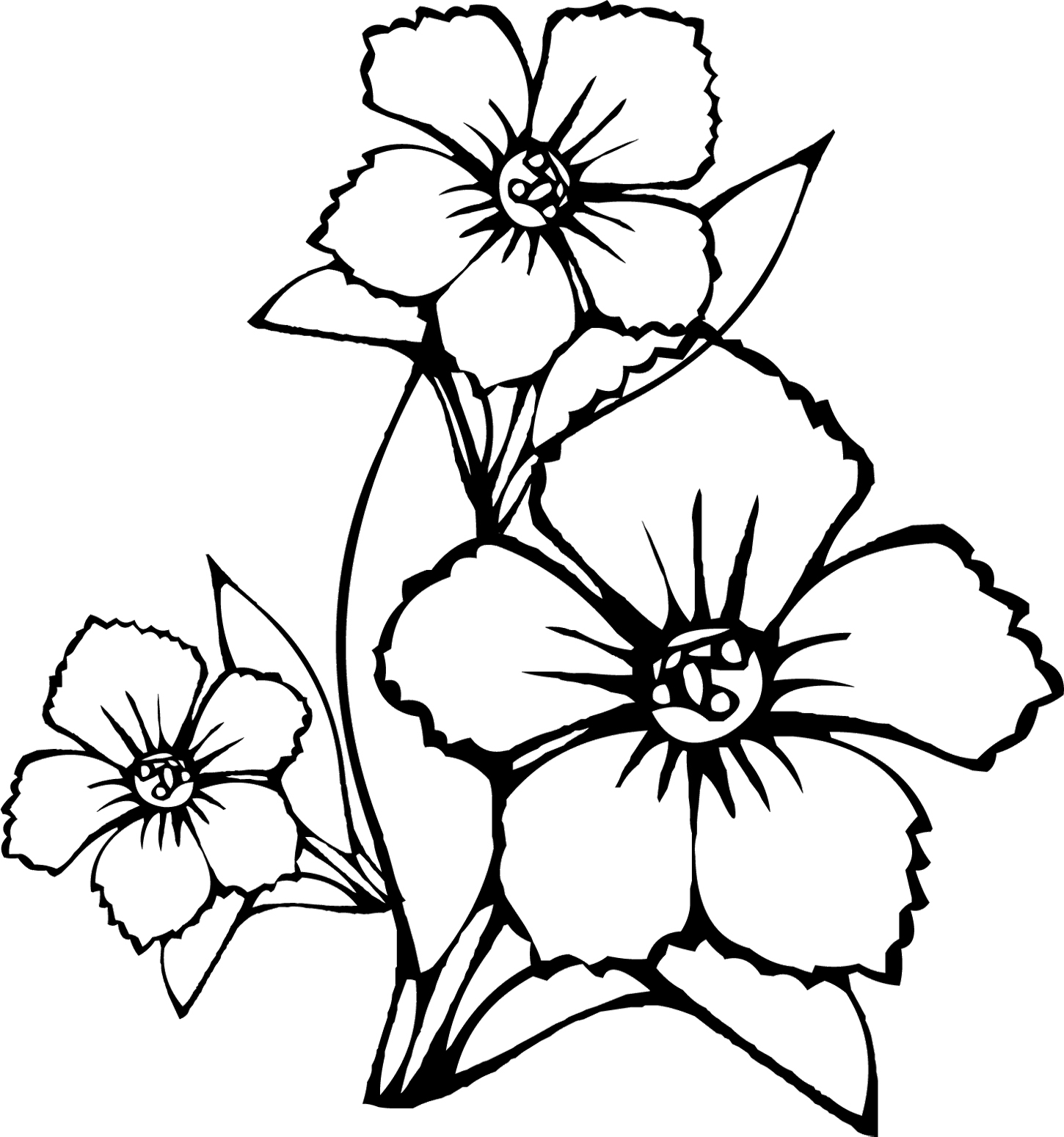 flower coloring pages 13,printable,coloring pages