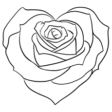 roses coloring pages,printable,coloring pages