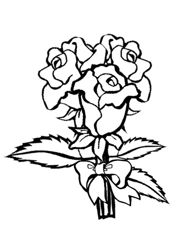 roses coloring pages for kids print color craft printable coloring - Printable Coloring Pages Roses
