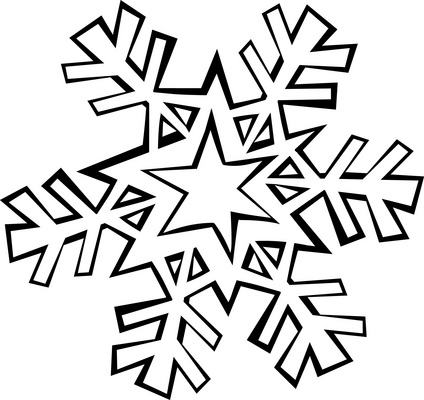 coloring pages of snowflake,printable,coloring pages