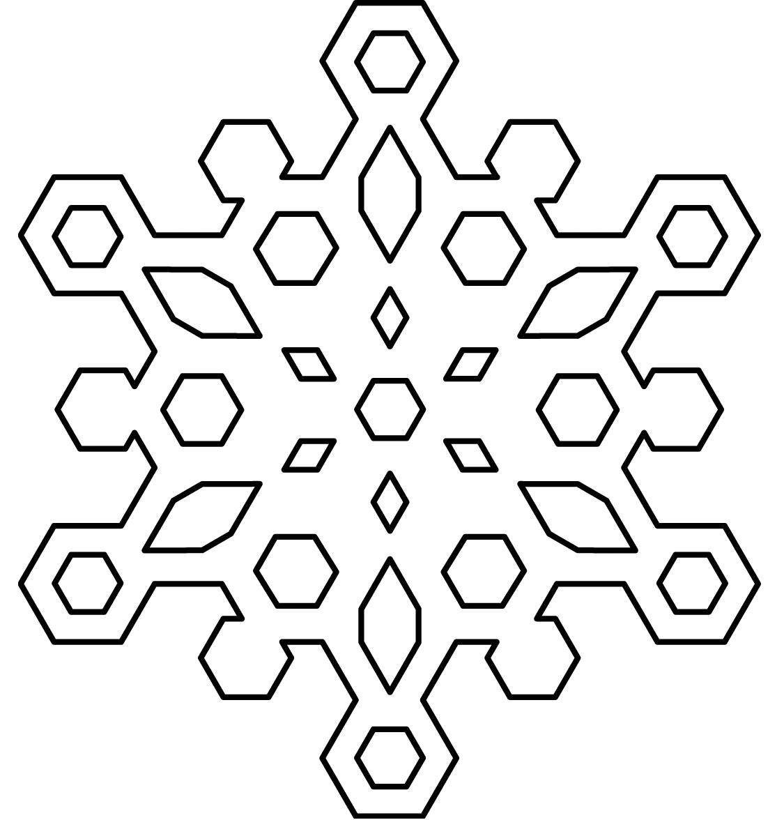 snowflake coloring page to print,printable,coloring pages