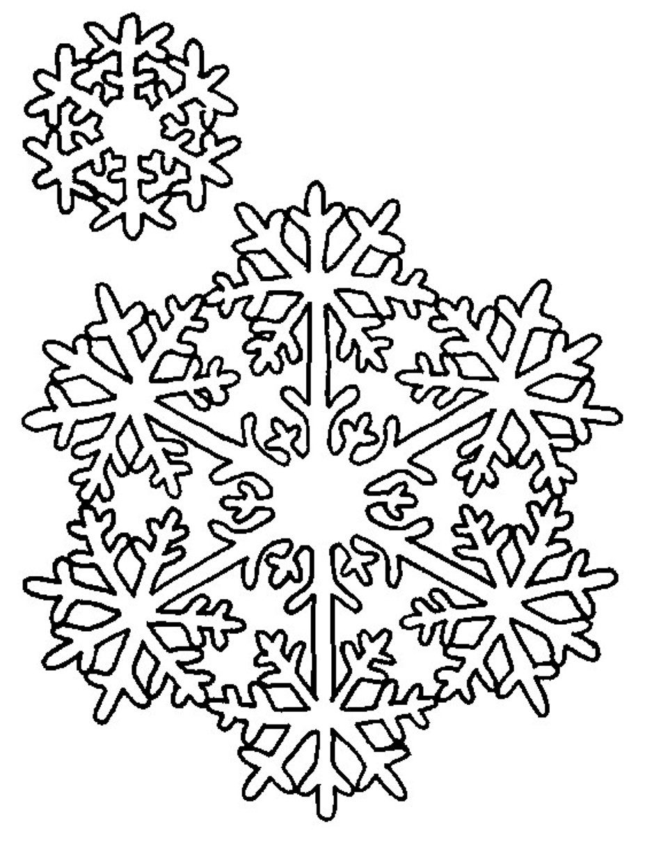 Snowflake | Worksheet | Education.com | 1213x927