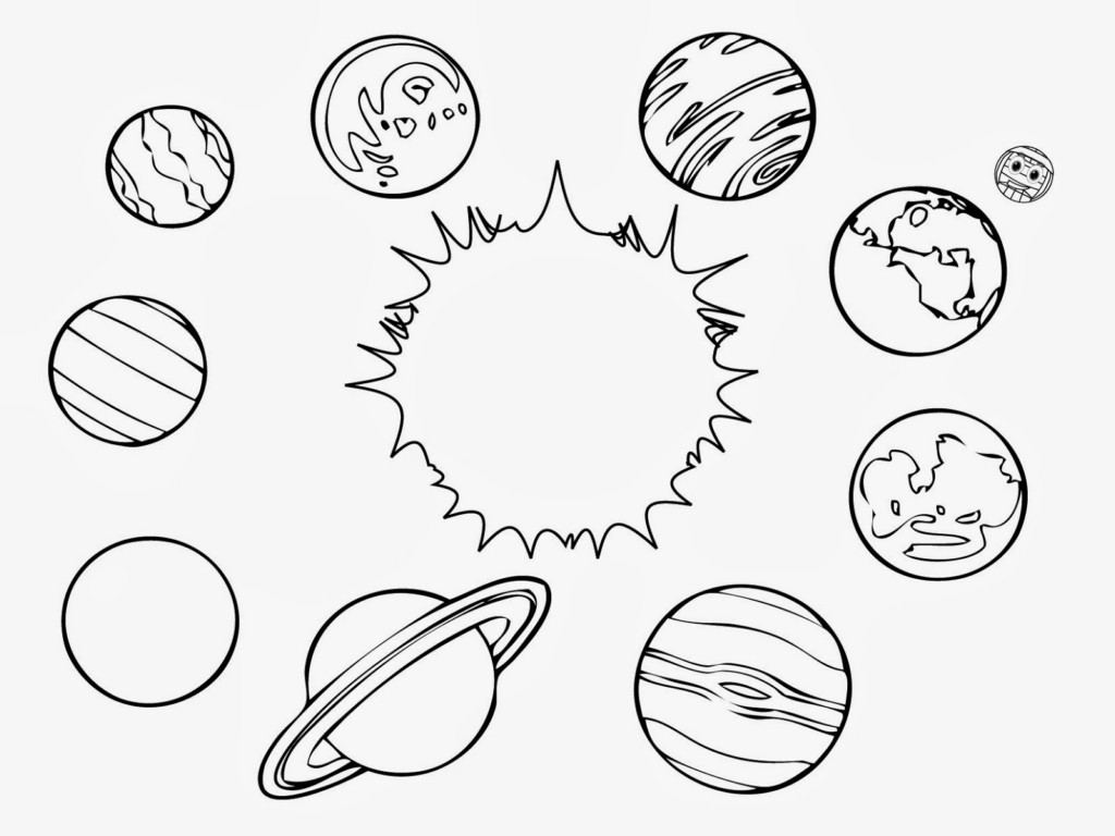 coloring pages of solar-system,printable,coloring pages